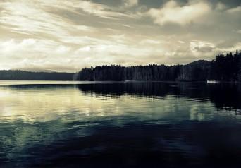 Elk Lake in January