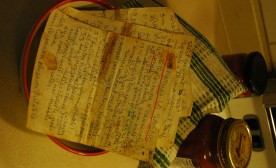 Handwritten Recipes Stir Up Memories