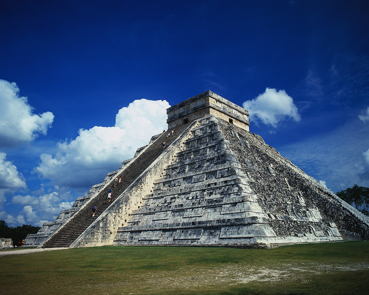 Maya Pyramide