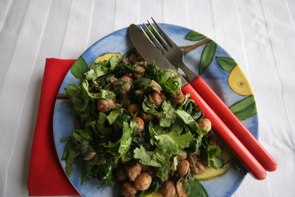 the simplest and best way to cook spinach is to wash it thoroughly and ...