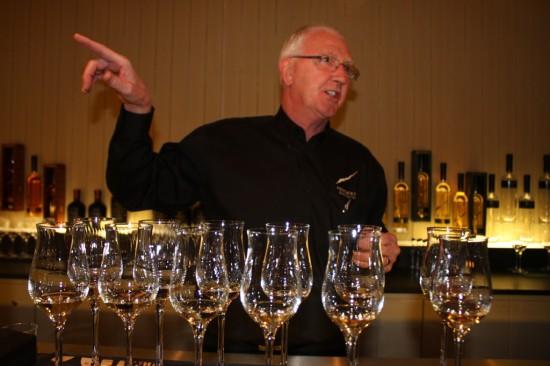 Keith Tench of Penderyn Distillery in Wales