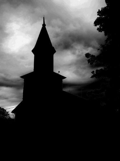 Old country church