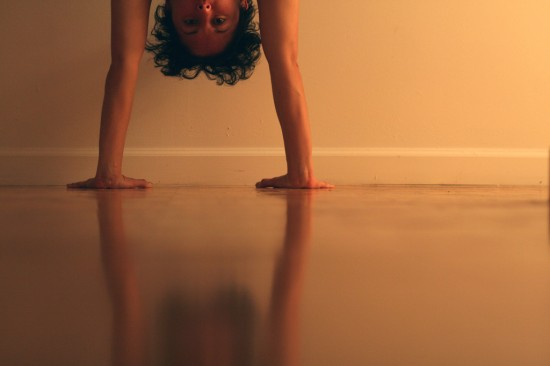 The dreaded handstand