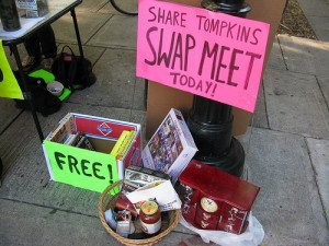 Community swap meets are great opportunities for sharing
