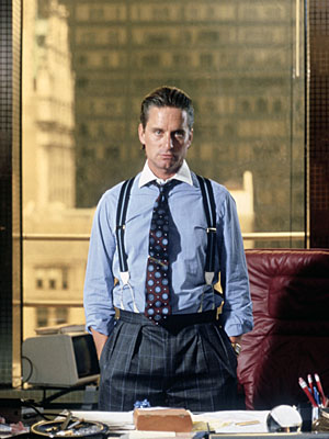 gordon gekko character analysis Who is a friend of gekko's, and who soon becomes bud's girlfriend carl fox   scene during the 1980s in fact, the character of gordon gekko is based loosely.