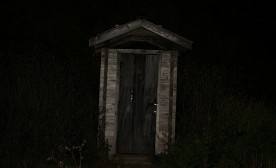 Scary outhouse