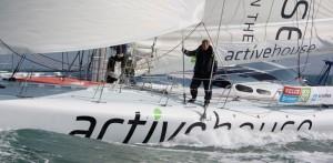 Derek Hatfield aboard Active House © World Wide Images Ltd.