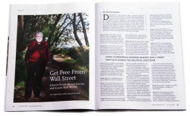 Get Free From Wall Street: An Interview With David Korten