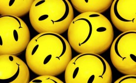 What percentage of happy do you need to be to feel happy?