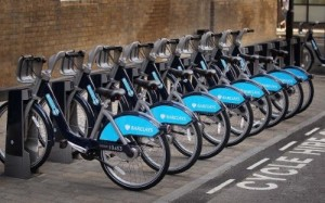 London joins other European capitals in the bike-sharing revolution with the introduction of Barclays Cycle Hire.
