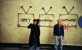 Consumerism Protest: Obey, Conform, Consume