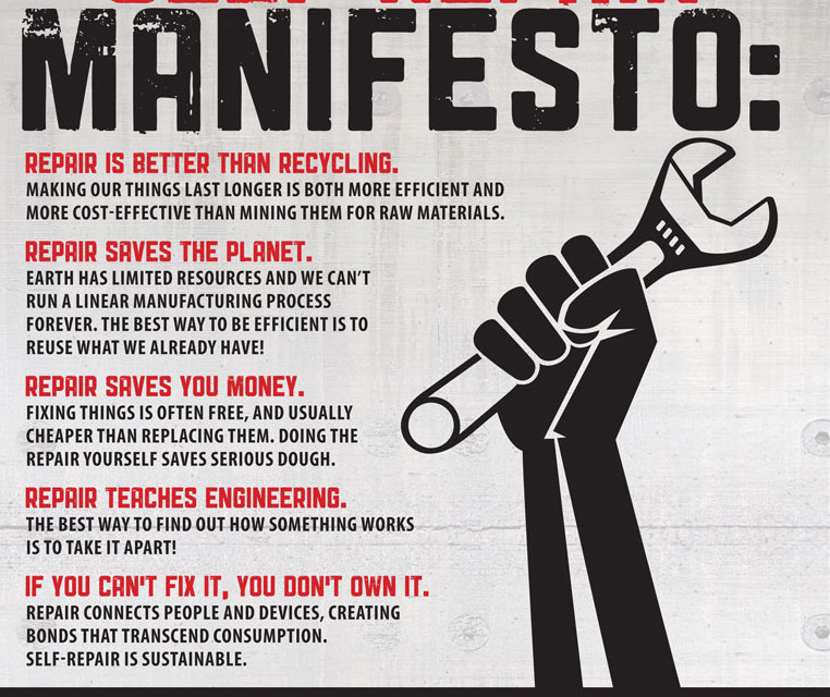 self repair manifesto life as a human