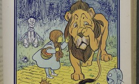 Cowardly lion in The Wonderful Wizard of Oz