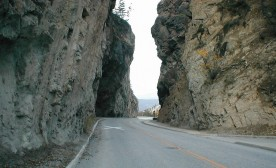 East Kootenay rock faces