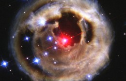 Light Echoes From Red Supergiant Star V838 Monocerotis – October 2002