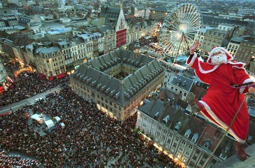 Lille, France at Christmas