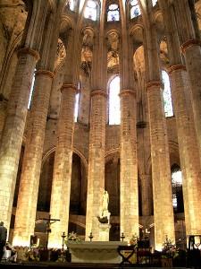Santa María del Mar in Barcelona
