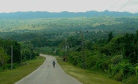 Bicycling in Cuba