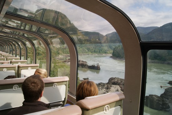 Fraser Valley Vista from the Rocky Mountaineer Dome Car