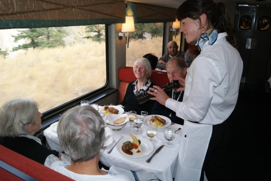 Gourmet Dining aboard the Rocky Mountaineer