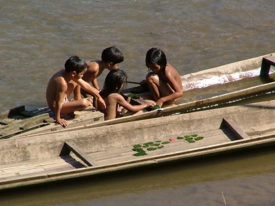 Naked boat china