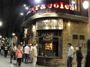 Los Caracoles in Barcelona