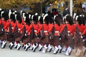 Participants in the Remembrance Day Ceremonies, Ottawa, 2011