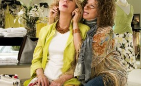 Mothers-in-law Barbra Streisand and Blythe Danner in Universal Pictures' Meet the Fockers