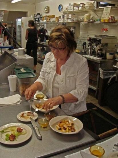 Sampling scallops
