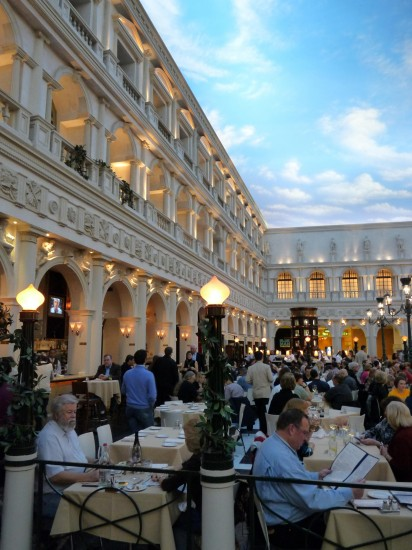 Inside the Venetian in Las Vegas