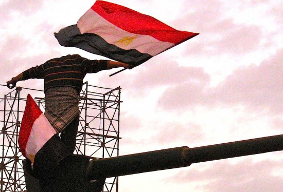 """You shall rise"" Egyptian Revolution"