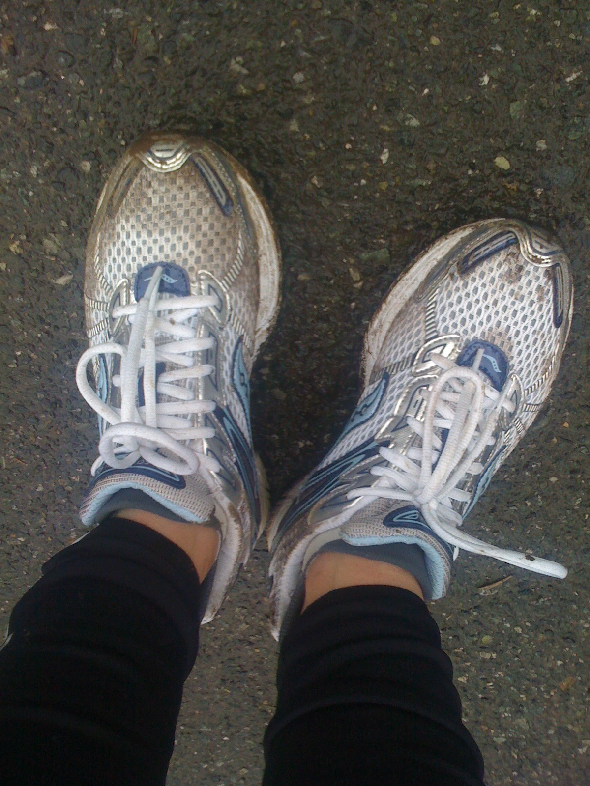 These feet are made for running