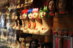 Endless varieites of wigs to choose from!