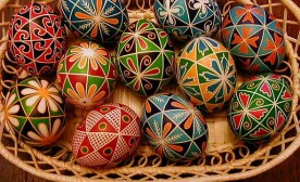 Pysanky: Forty Triangles Design