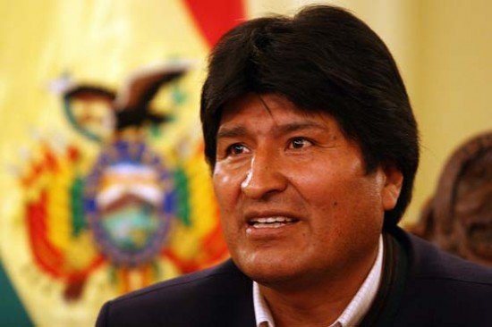 Bolivia's first indigenous leader and a champion of the rights of Mother Earth.