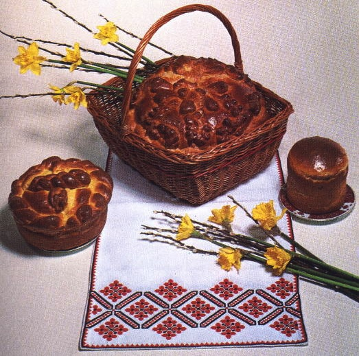 Paska is a Ukrainian Easter tradition.