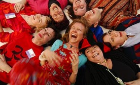 Laughter Yoga: Completely Contagious