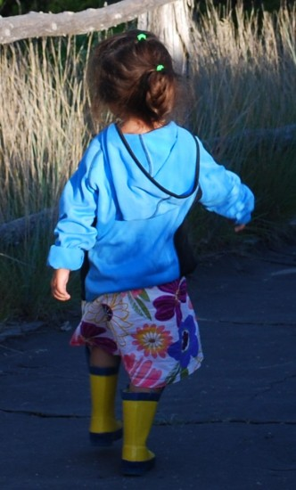 Child walking