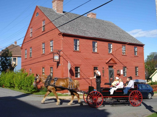Horse and carriage in Lunenburg