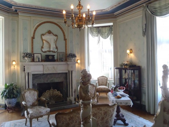 Room intended for Royals in Casa Loma, it was destined never to be used.