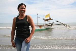 Jerilyn Camarines Fish Monger, Phillippines