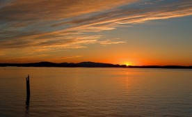 Sunrise at Sidney Pier