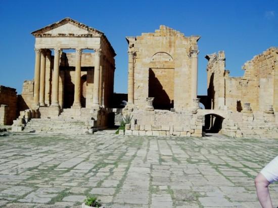 Tunisia - three temples in one