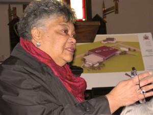 Elizabeth Cromwell, President of the Black Loyalist Heritage Society.