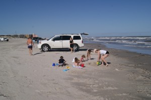 Cars are Allowed on many Texas Beaches