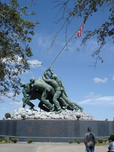 Original Iwo Jima Monument in Harlingen, Texas