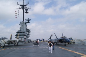 On board the USS Lexington Museum