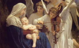 William Adolphe Bouguereau - Song of the Angels (1881)