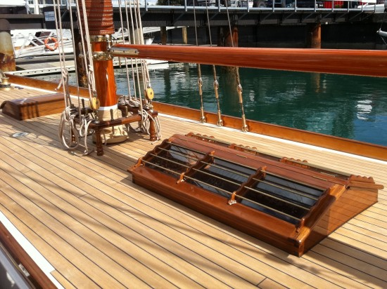 build wood yacht