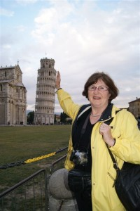 Holding Up Leaning Tower